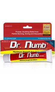 Dr. Numb 5% Anesthetic Numbing Cream Vitamin E 30g