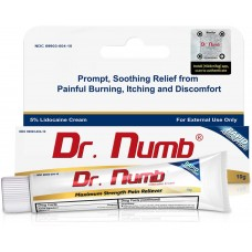 Dr.Numb 5% Anesthetic Numbing Cream Vitamin E 10g