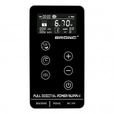 BRONC Power Supply LCD Digital Touch Screen