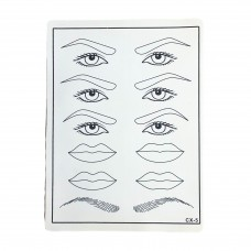 10 PK Tattoo Practice Skin for Permanent Makeup